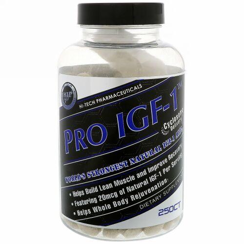 Hi Tech Pharmaceuticals, Pro IGF-1、250錠 (Discontinued Item)