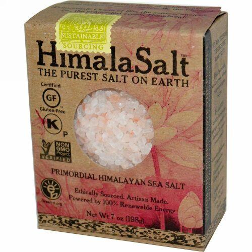 HimalaSalt, 原始ヒマラヤンシーソルト, 7 オンス (198 g) (Discontinued Item)