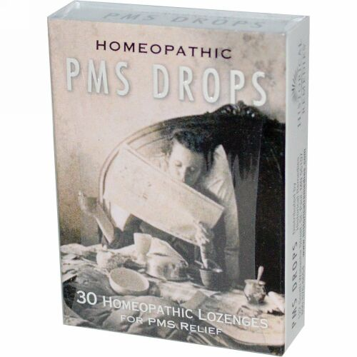 Historical Remedies, PMS ドロップ、 30ホメオパシーロゼンジ (Discontinued Item)