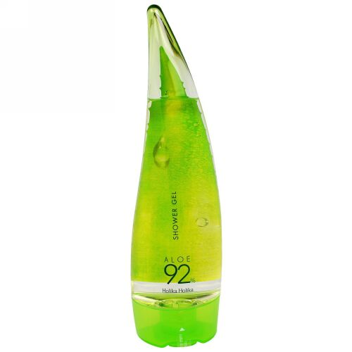 Holika Holika, シャワージェル、アロエ92%、8.45液量オンス (250 ml)
