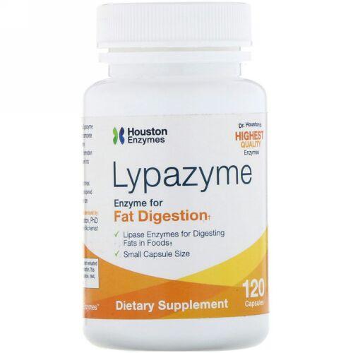 Houston Enzymes, Lypazyme, カプセル120粒