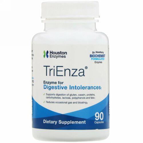 Houston Enzymes, トリエンザ、消化を助ける酵素、90粒