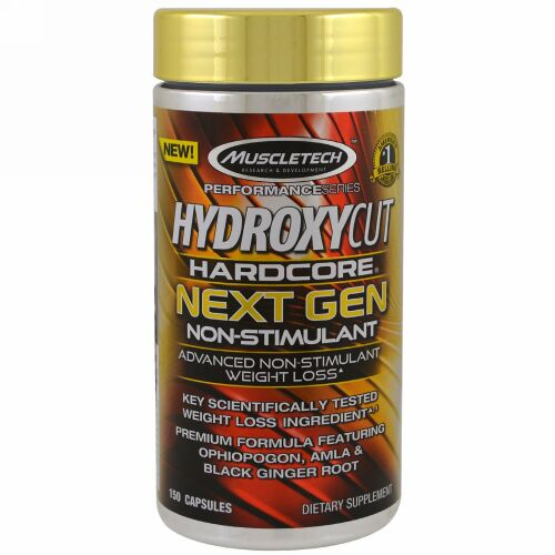 Hydroxycut, Performance Series, Hardcore Next Gen, Non-Stimulant, 150 Capsules