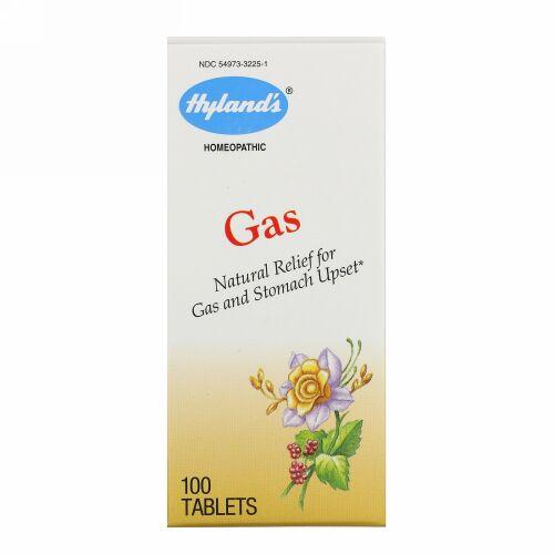 Hyland's, ガス、100錠