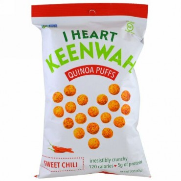 I Heart Keenwah, キヌアパフ, スイートチリ, 3 oz (85 g) (Discontinued Item)