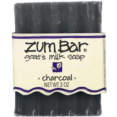 Indigo Wild, Zum Bar, Goat's Milk Soap, Charcoal, 3 oz
