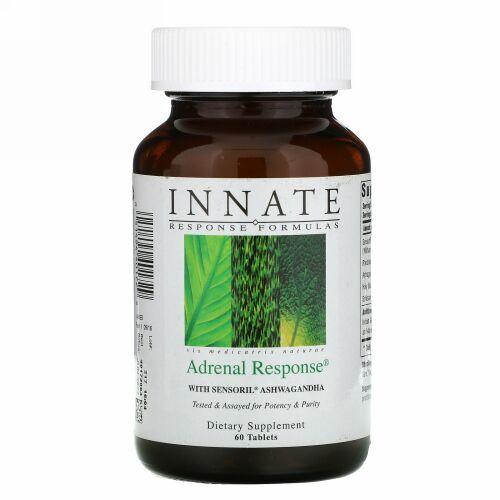 Innate Response Formulas, AdrenalResponse(アドレナル レスポンス)、60粒