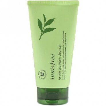 Innisfree, Green Tea Foam Cleanser, 150 ml (Discontinued Item)