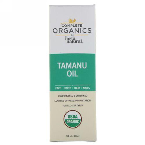 InstaNatural, コンプリートオーガニック, タマヌオイル, 1液量オンス (30 ml) (Discontinued Item)
