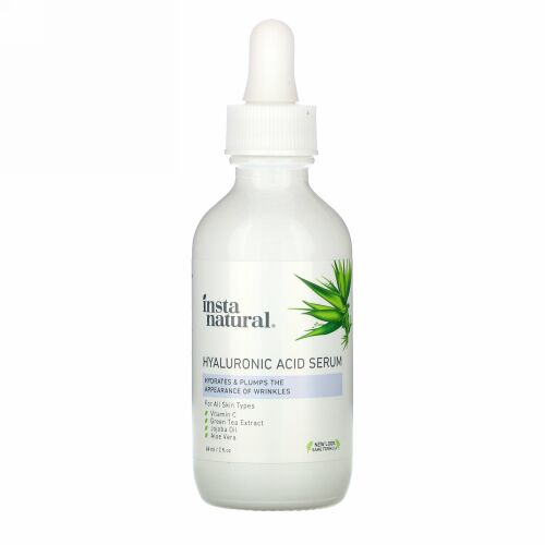 InstaNatural, Hyaluronic Acid Serum, 2 fl oz (60 ml)