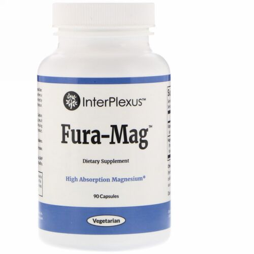 InterPlexus, Fura-Mag™(フラ・マグ)、90カプセル (Discontinued Item)