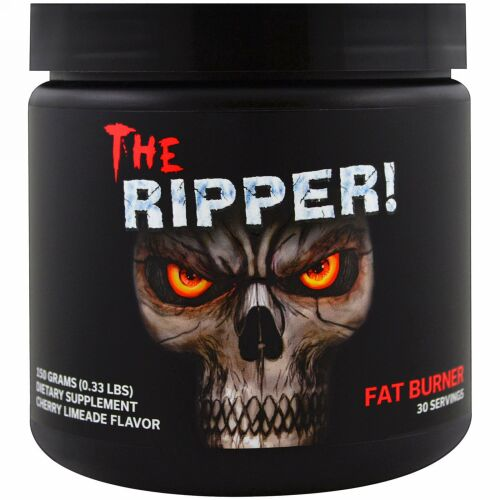 JNX Sports, ザ・リッパー, 脂肪燃焼サプリメント, チェリー・ライムエードの味, 0.33 lbs (150 g) (Discontinued Item)