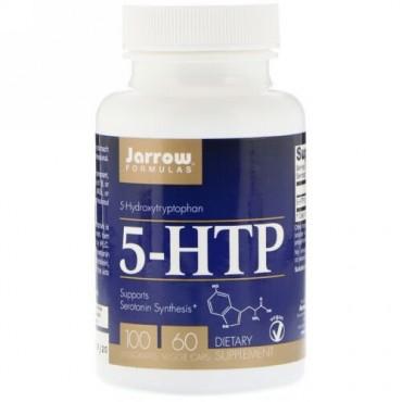 Jarrow Formulas, 5-HTP、100mg、植物性カプセル60粒