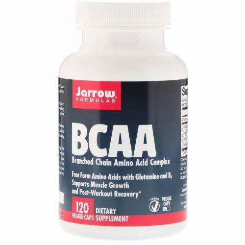 Jarrow Formulas, BCAAコンプレックス、ベジカプセル120粒
