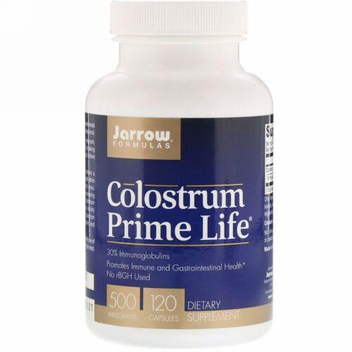 Jarrow Formulas, 初乳プライムライフ(Colostrum Prime Life), 500 mg, 120カプセル
