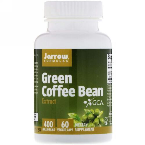 Jarrow Formulas, 生コーヒー豆エキス、60 ベジカプセル
