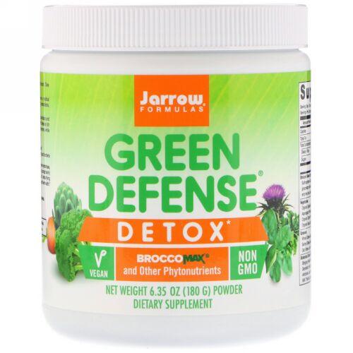 Jarrow Formulas, Green Defense Detox Powder, 6.35 oz (180 g) (Discontinued Item)