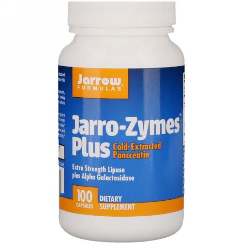 Jarrow Formulas, Jarro-Zymes® プラス, 100 カプセル