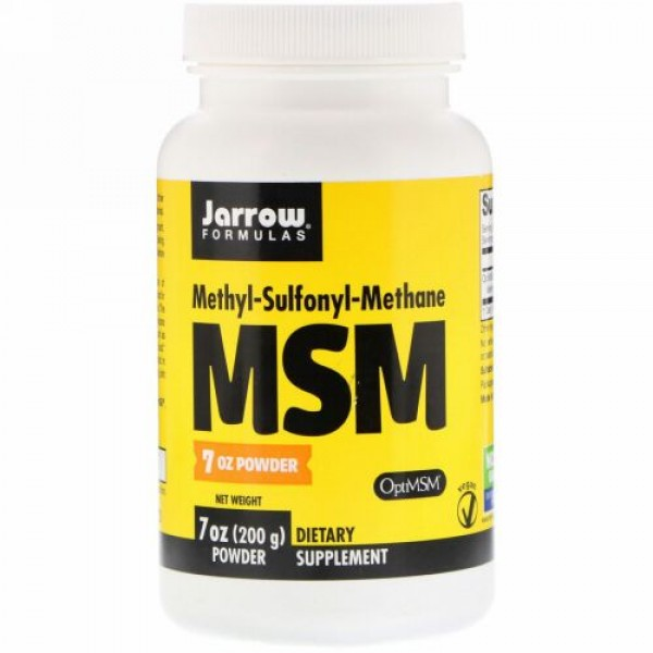 Jarrow Formulas, MSM Powder, 7 oz (200 g)
