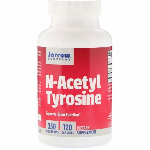 Jarrow Formulas, N-アセチルチロシン, 350 mg, 120 カプセル