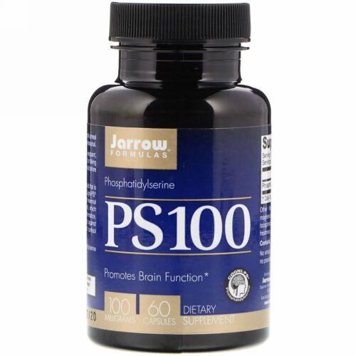 Jarrow Formulas, PS 100、ホスファチジルセリン、100 mg、 60 カプセル