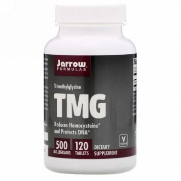 Jarrow Formulas, TMG、トリメチルグリシン、500 mg、120粒