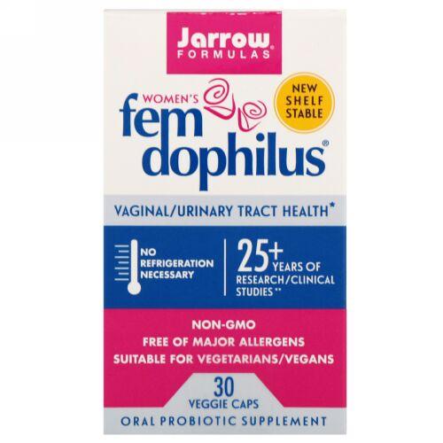 Jarrow Formulas, Women's Fem Dophilus、30ベジタブルカプセル
