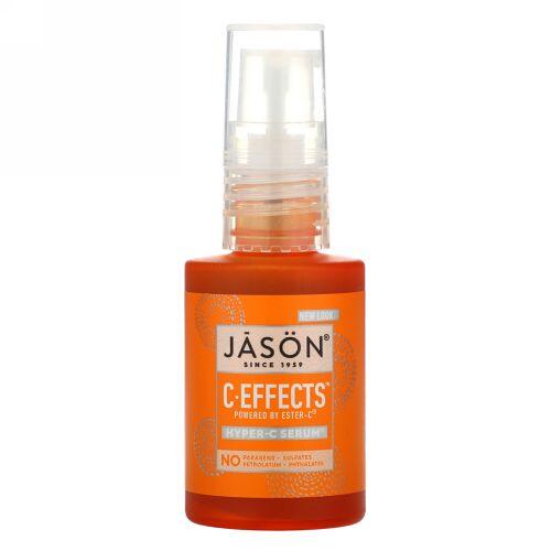Jason Natural, C-エフェクツ, ハイパー-C セーラム, エイジングケア デイリー スポット トリートメント, 1 fl oz (30 ml)