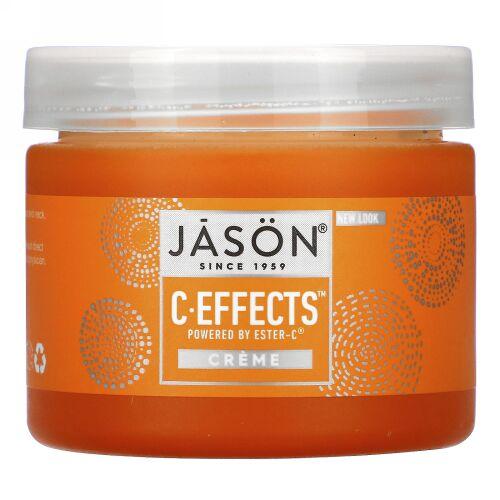 Jason Natural, C Effects、クリーム、2オンス (57 g)