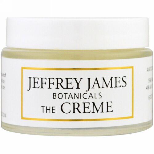 Jeffrey James Botanicals, ザ・クレーム、オールデイ & オールナイト、2.0オンス (59 ml)