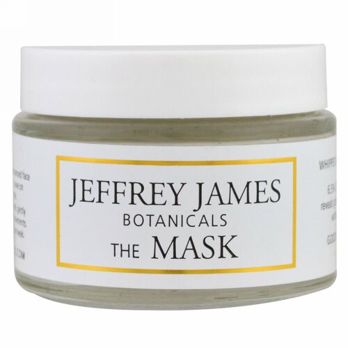 Jeffrey James Botanicals, ザ・マスク、ホイップドラズベリーマッドマスク、2.0オンス(59 ml)