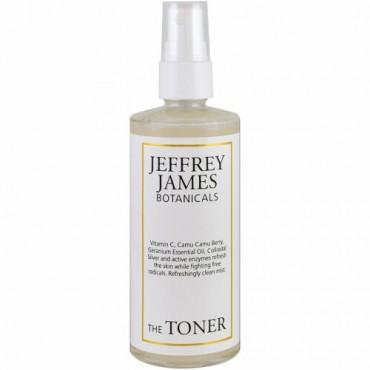 Jeffrey James Botanicals, ザ・トナー、リフレッシュ・クリーンミスト、4.0オンス(118 ml)