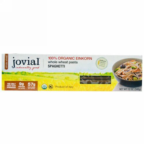 Jovial, 全粒粉パスタ、 スパゲッティ、 12 oz (340 g) (Discontinued Item)