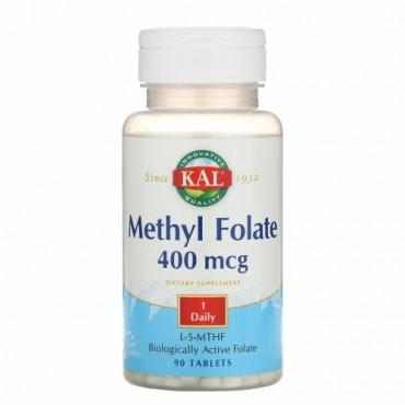 KAL, 葉酸メチル、400μg、90錠