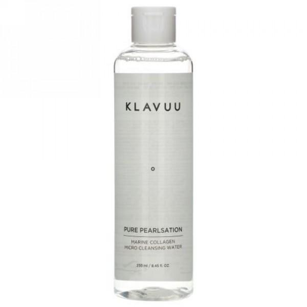 KLAVUU, Pure Pearlsation, Marine Collagen Micro Cleansing Water, 8.45 fl oz (250 ml)