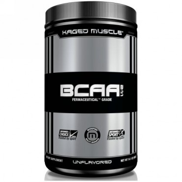 Kaged Muscle, BCAA2:1:1、味付けなし、14.1オンス(400g)