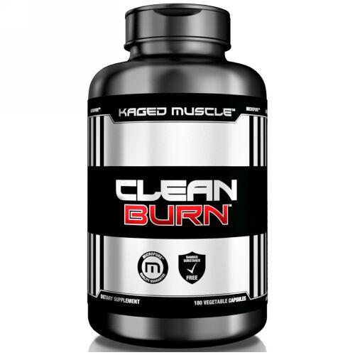 Kaged Muscle, Clean Burn, 180 Vegetable Capsules
