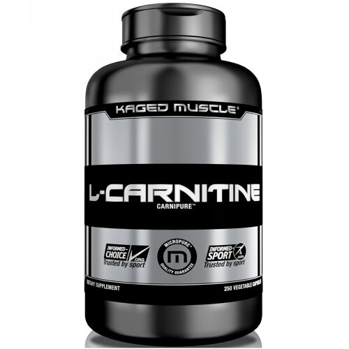 Kaged Muscle, L-カルニチン、ベジカプセル250粒