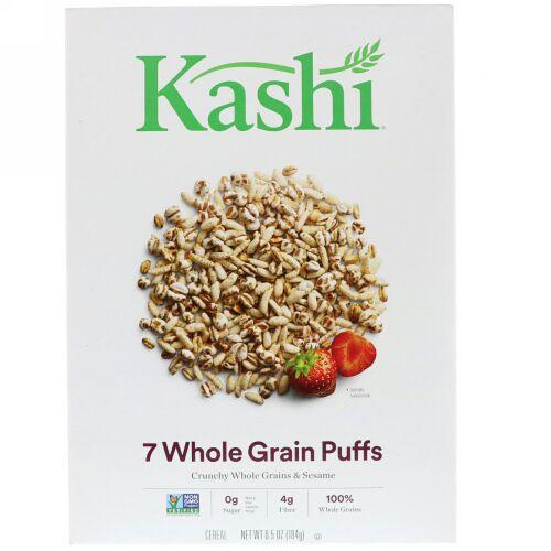 Kashi, 7種類の全穀粒パフ, 6.5 オンス (184 g)