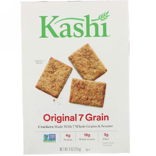 Kashi, Original 7 Grain Crackers, 9 oz (255 g) (Discontinued Item)