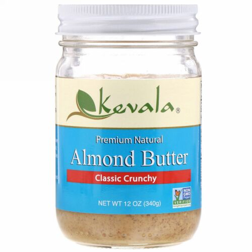 Kevala, アーモンドバター、 クラシックチャンキー、 12オンス (340 g)