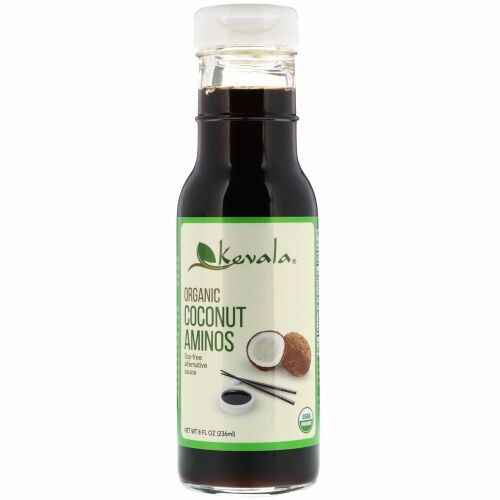 Kevala, オーガニックココナツアミノ、8オンス (236 ml)