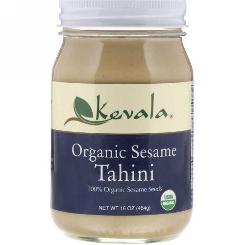 Kevala, オーガニックゴマタヒニ 16 oz (454 g)