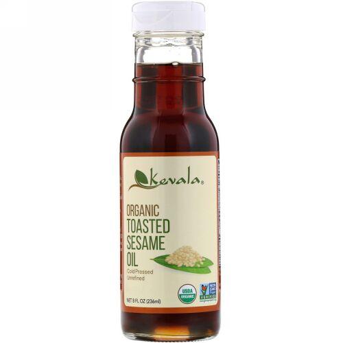Kevala, オーガニック トースト・セサミオイル, 8 液量オンス (236 ml)
