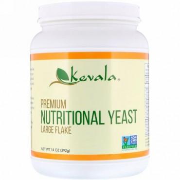 Kevala, プレミアム栄養イースト、ラージフレーク、14オンス (392 g)