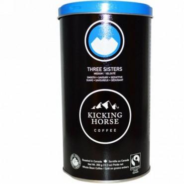 Kicking Horse, スリー・シスターズ、ミディアム、ホールビーン・コーヒー、 12.3 oz (350 g) (Discontinued Item)