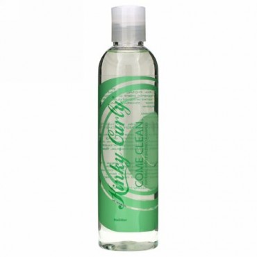 Kinky-Curly, カム・クリーン™, ナチュラル・モイスチャライジング・シャンプー, 8 オンス (236 ml)