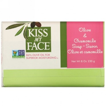 Kiss My Face, Olive & Chamomile Soap, 8 oz (230 g)