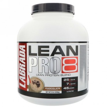 Labrada Nutrition, Lean Pro8, Chocolate, 5 lbs (2268 g ) (Discontinued Item)