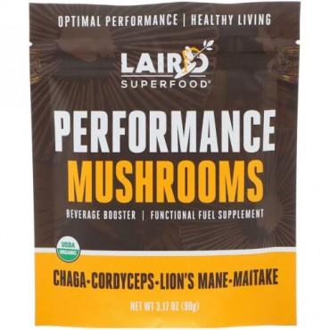 Laird Superfood, パフォーマンスマッシュルーム、3.17オンス (90 g) (Discontinued Item)